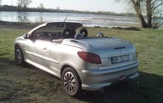 Peugeot 206 CC 1.6 plin