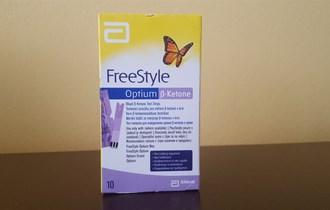 Trakice za mjerenje ketona u krvi - Freestyle Optium