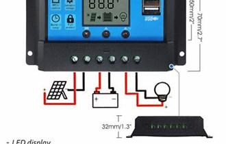 10A Solar Battery Controler 12/24V