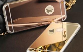 Silicone Mirror Case za iPhone 5 6S 7 8