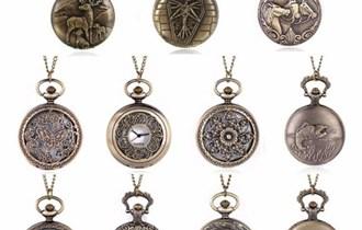Brončani antikni džepni satovi