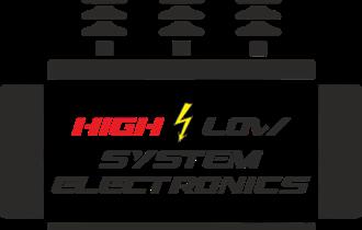 High low system electronics traži električare