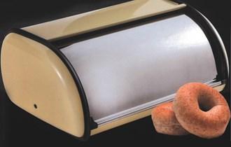 Kutija za kruh s poklopcem metalna 36 x 24 x 15 cm