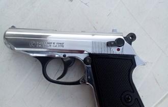 Plinski pistolj cal 8 mm inox