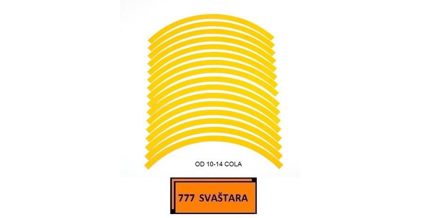 Reflektirajuće trakice za felge - DO 14 COLA - model 30