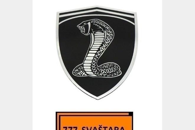 Znak - Amblem - Logo - Kobra - model 2