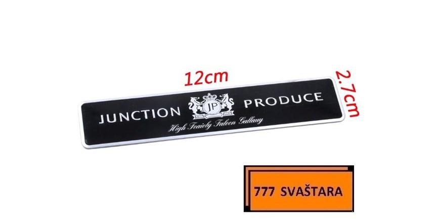 Znak - Amblem - Logo - Junction Produce - model 1