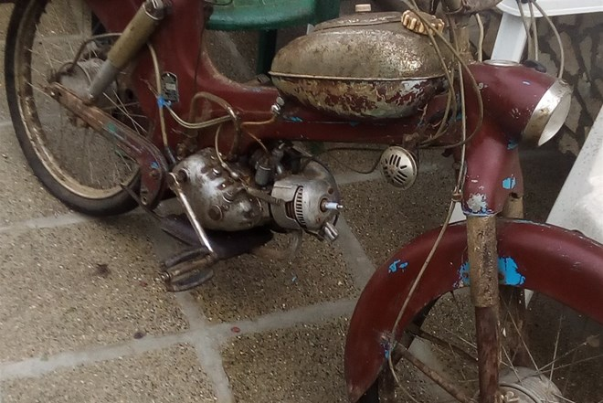 Tomos Colibri 03,1957g.hitno,povoljno,rijedak oldtimer iz 1957g.