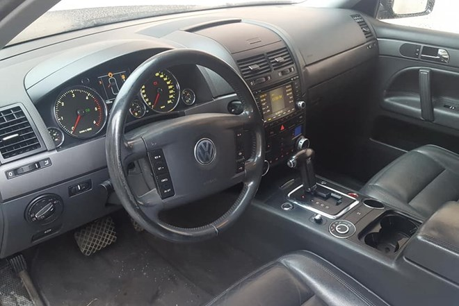VW Touareg 2.5 R5 Reg do 2.mj