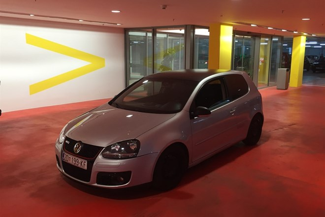 VW Golf V 2.0 TDI GTI look