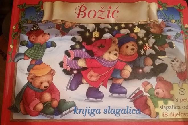 Božić, knjiga slagalica - NOVO