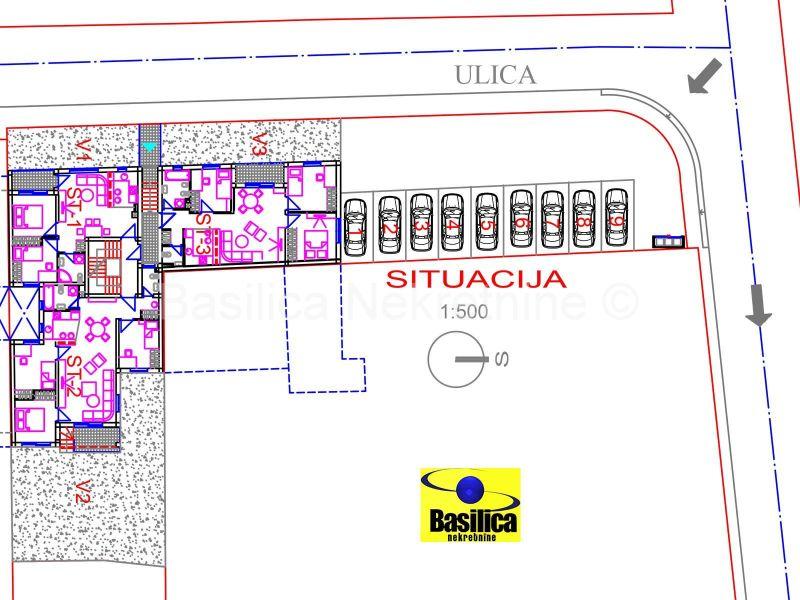 Novogradnja, Nova cesta, Trešnjevka, 3s od 72m2 2.kat