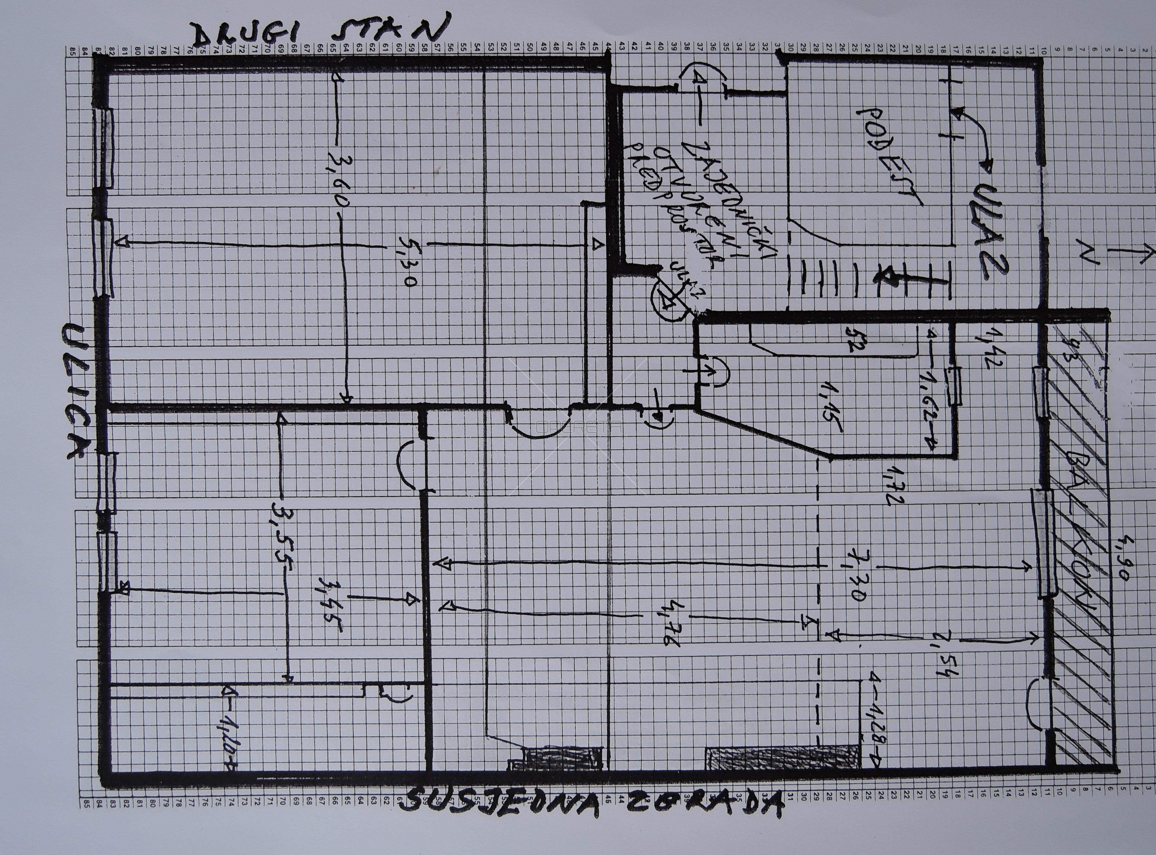 Prodaja, stan, Centar, 3s, 85m2
