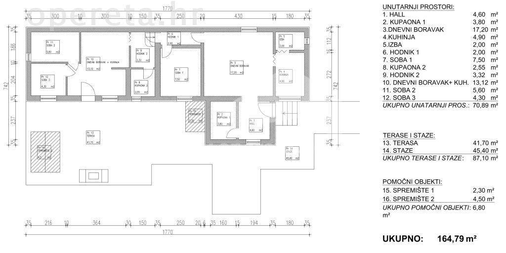 Prodaja, kuća, Maksimir, Samostojeća, 71m2