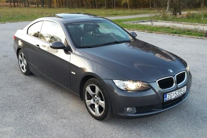 BMW serija 3 Coupe 320d, automatik, reg. 10/18, koža, navi