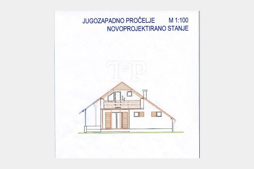 Klanjec, Rakovec Tomaševečki, 3-sobna katnica, 150 m2