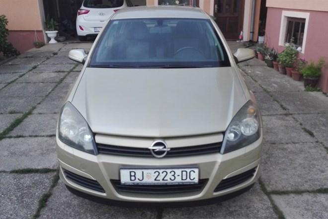 Opel Astra 1.4 16V, 2004. godina, 104.500km, u odličnom stanju! Bjelovar 4.338,32
