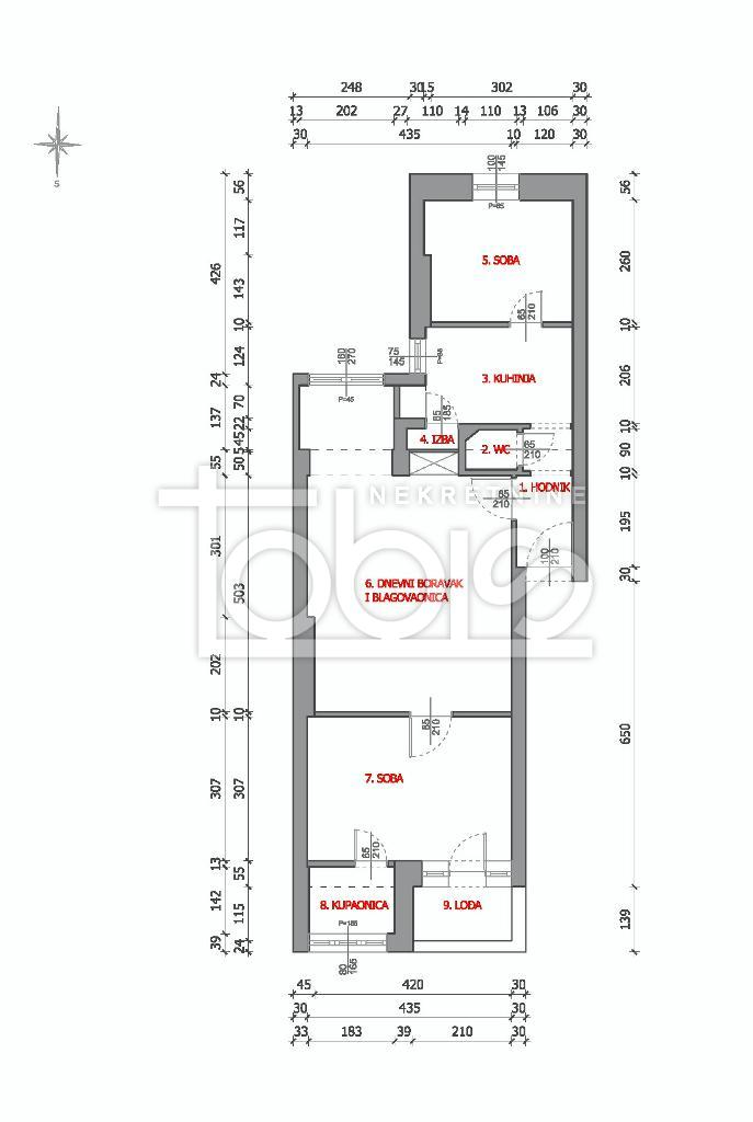 Prodaja, stan, Gornji grad, 3s, 64m2