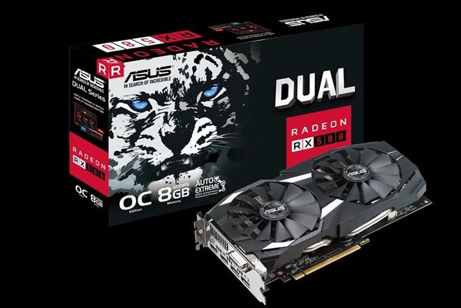 AMD Radeon RX580 8 GB ASUS DUAL OC *GARANCIJA*