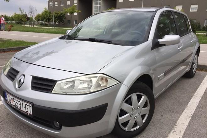 Renault Megane 1.5dci reg 1GOD KUPLJEN U HR ODLICAN 3200€!!