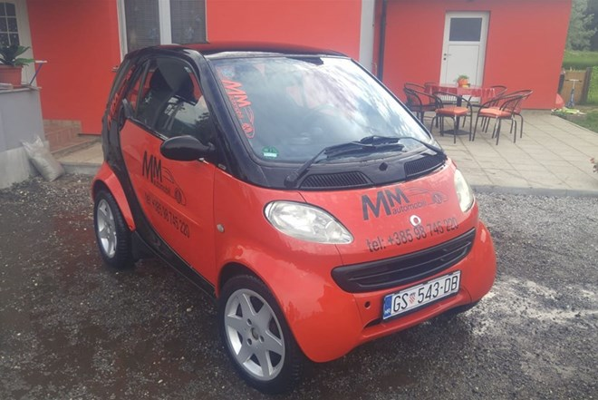 Smart fortwo coupe 800 cdi