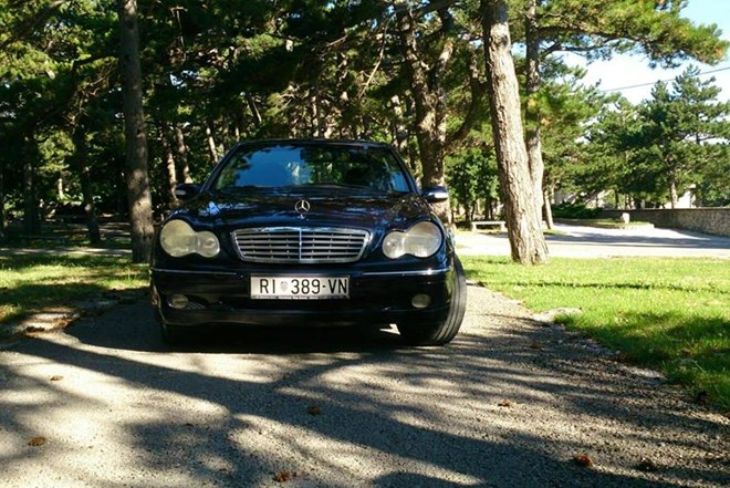 Mercedes-Benz C-klasa C240+LPG elegance automatik