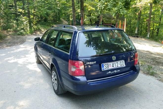 VW Passat 2.0i Lpg