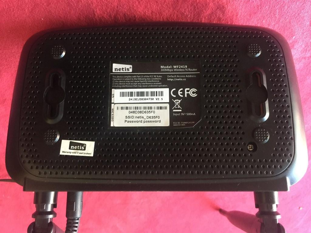 Router Wifi Netis Wf2419 Index Oglasi Wf2419e 300mbps Wireless