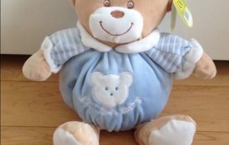 Baby plišani medo 25 cm - UNIKATOY (NOVO)