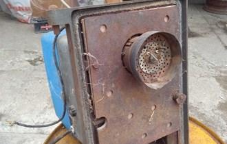 Plamenik za centralno grijanje