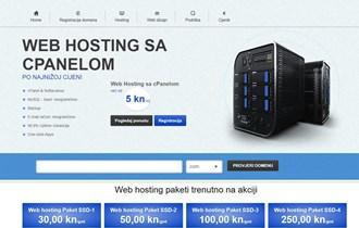 Web hosting i registracija domena