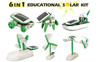 """Kreativni Set Solarni Robot \""""6 u 1\"""""""