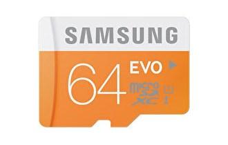 SAMSUNG EVO-XT 64GB MICRO SD KARTICA CLASS10