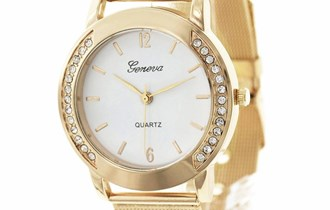 Ženski sat Geneve Premium sa cirkonima