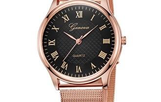 Ženski sat Geneve ružičasto zlato