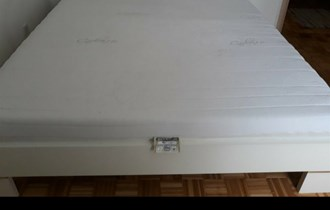 Krevet bracni hespo 220/200,novi,madrac i podnice,3100 kn