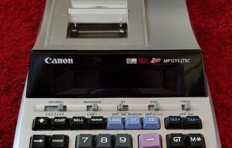 Računovodstveni kalkulator Canon MP1121-LTSC