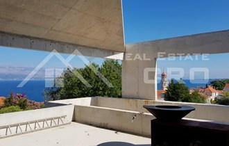 Moderna vila u izgradnji s prekrasnim pogledom na more