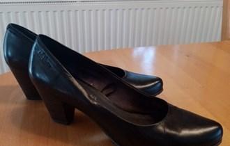 Ženske cipele, kožne
