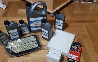 Servis za hondu civic 2.2 fn3 (honda ulje, filteri)