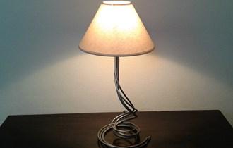 Stolna lampa, svijetiljka - Ručni rad