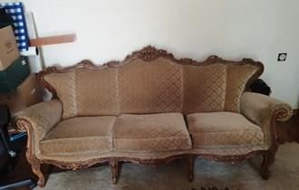 Trosjed dvije fotelje i stolica