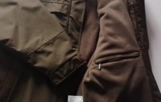Zimska službena vojna jakna