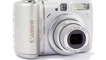 Digitalni fotoaparat Canon power shot A580,4gb kartica,usb kabel
