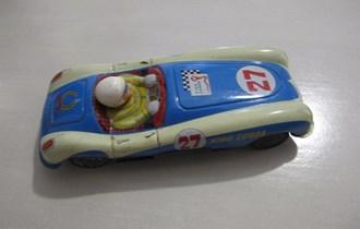 Metalni stari autić King Cobra,duzina 19cm,saljem i postom