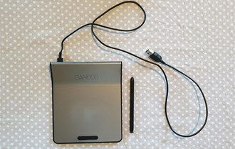 Grafički tablet WACOM CTH-301K BAMBOO Pad Light cordless Pen, w7/8