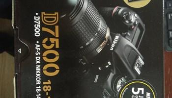 NIKON D7500 KIT AF-S Nikkor 18-140 mm f3.5-6.3 G VR Lens