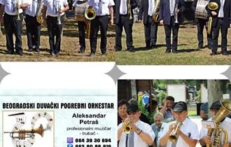 Pogrebni orkestar trubači za sahrane pleh muzika