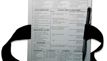 Pilotski podložak za pisanje na koljenu KNEEBOARD (od aluminija)