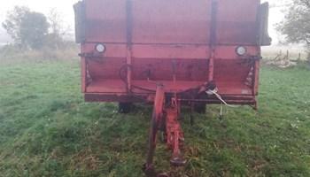 Prikolica za stajski gnoj sip tg35a